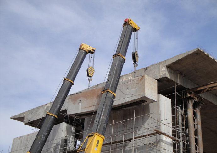 石家庄绳锯切割拆除-临时防护与切除洞口产生同步进行